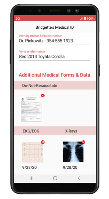 Emergency Medical ID Android
